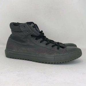 Converse Mens 153681C Black Sneaker Shoe Sz M 11.5